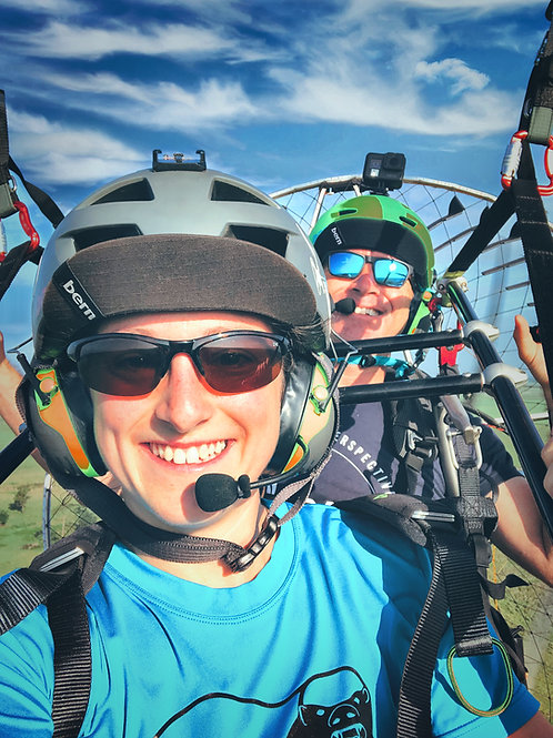 Gift Certificate for AMAZING 25 Minute Tandem Paramotor Flight