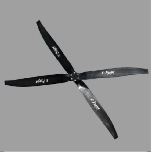 Plug-N-Fly E-Prop (NEW)- ANY PARAMOTOR ENGINE -  4 Blade Scimitar Design