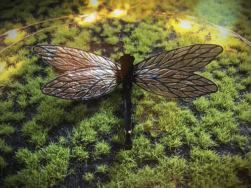 Forest Blaze Dragonfly Hairclip