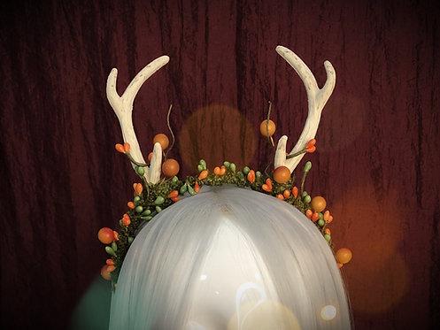 Autumn Seasonal Antler Headdress