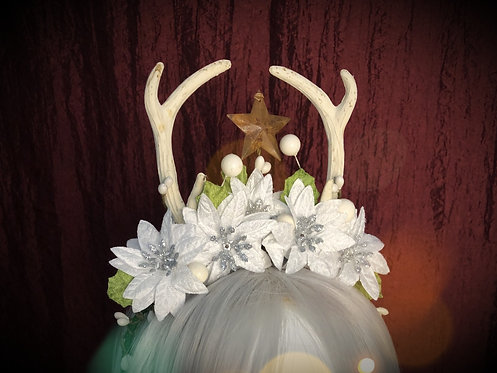 Winter Seasonal Antler Headdress