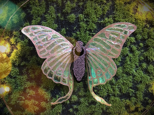 Luna Moth Hairclip