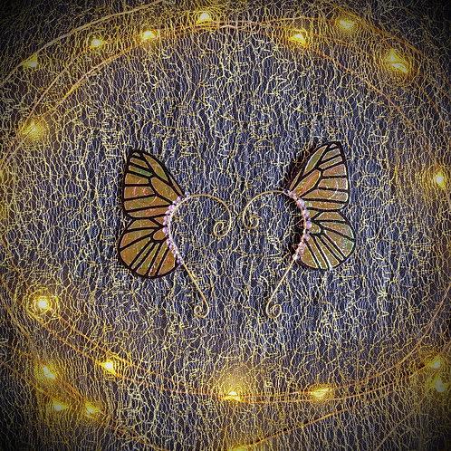 Small Butterfly Earpiece Set