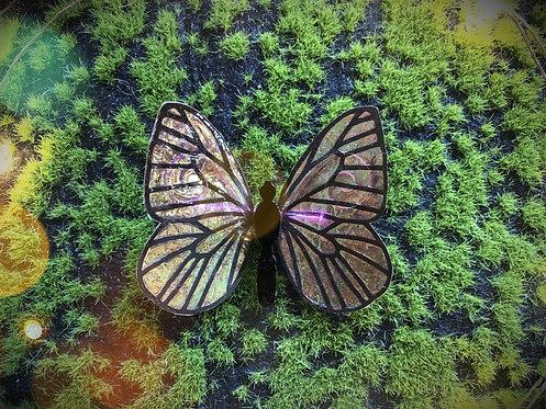 Mandarin Butterfly Hairclip
