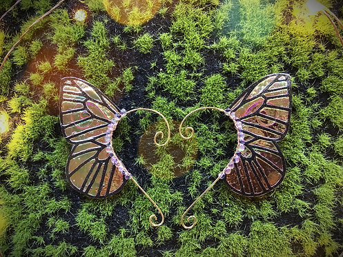 Small Butterfly Mandarin Earpiece Set