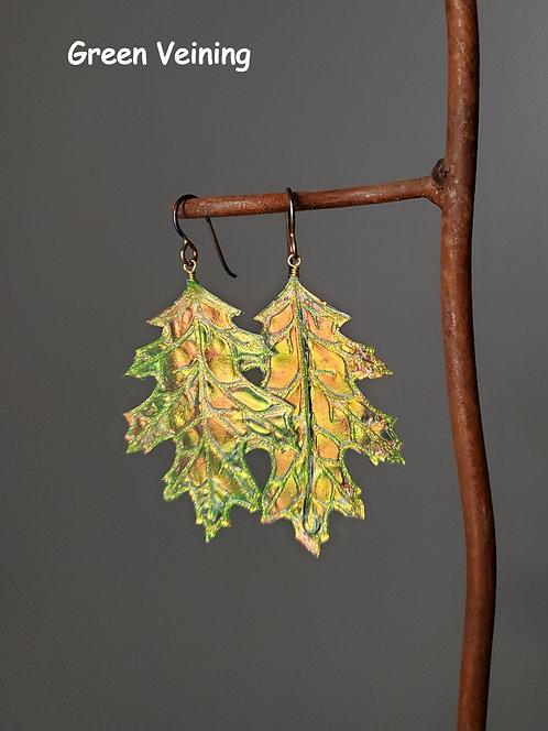 Oak Leaf Flutter Earrings