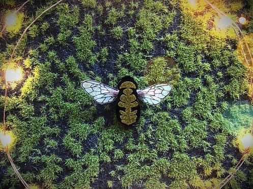 Honey Bee Hairclip