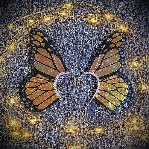 Monarch Butterfly Earpiece Set