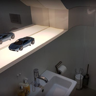Acrylic Fabrication for Ferrari. Cutting Edge Designs. Northern Ireland