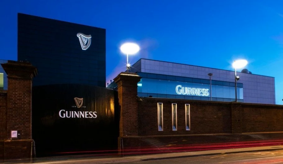 Guinness Brewery Built up Letters. Cutting Edge Designs. Northern Ireland