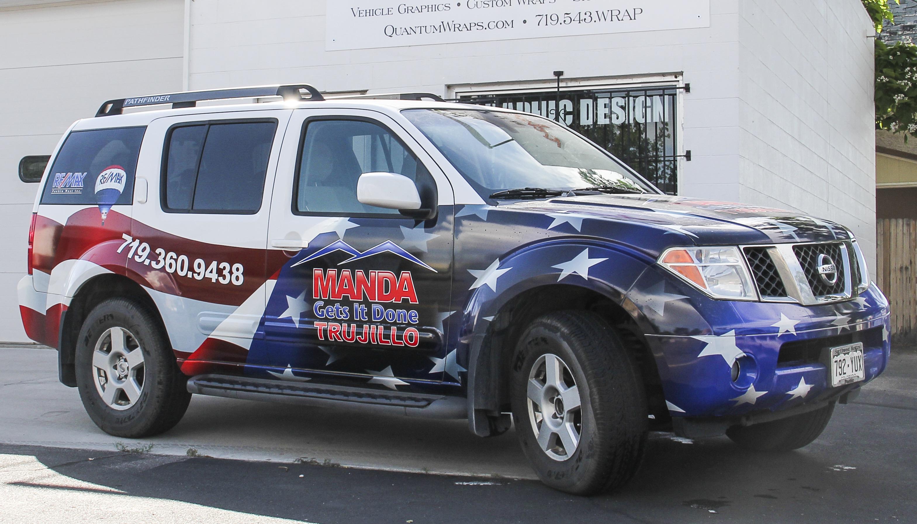 Manda Trujillo Nissan Pathfinder Wra