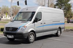 Mercedes Custom Stripes