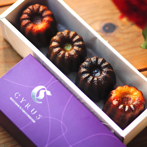 Canele l box of 4