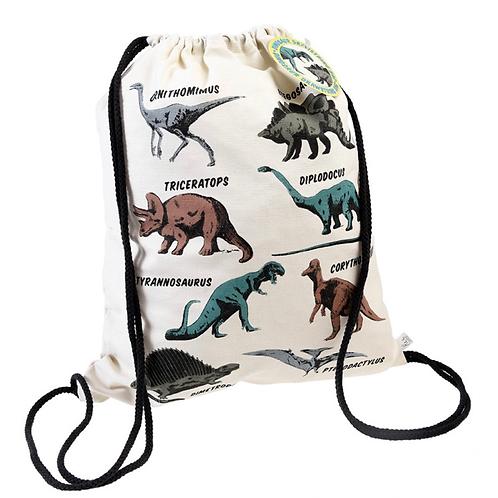 Prehistoric Land Drawstring Bag
