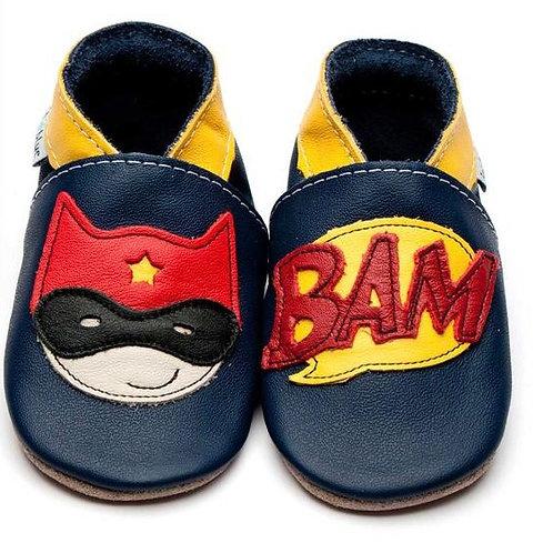 Superhero booties