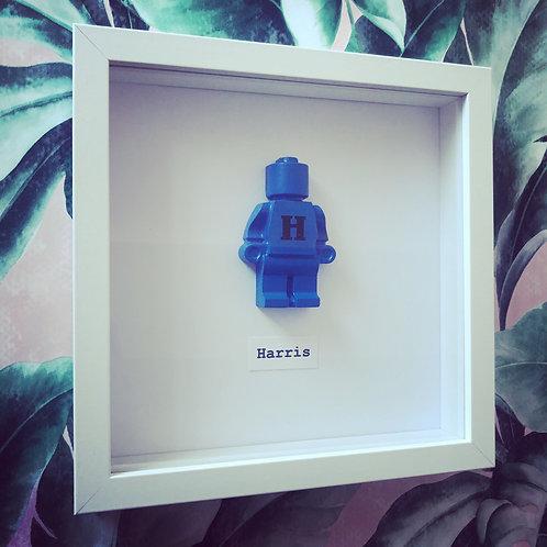 Personalised lego figure frames