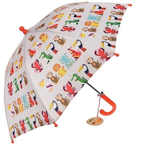 Colourful creatures Umbrella