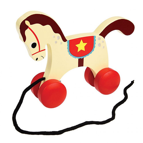 Charlie the Circus Horse pull toy