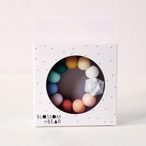Blossom & Bear Rainbow teething toy