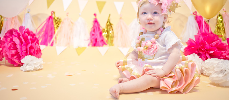 Zoey's First Birthday session