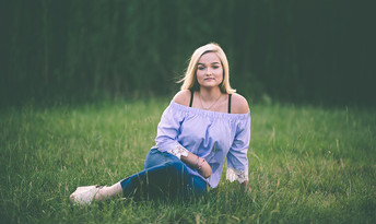 Senior session in Canton Texas