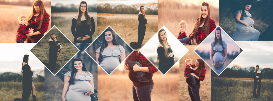 Leslie's Maternity session and product reveal.