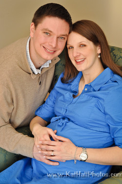 In Home Maternity Photography