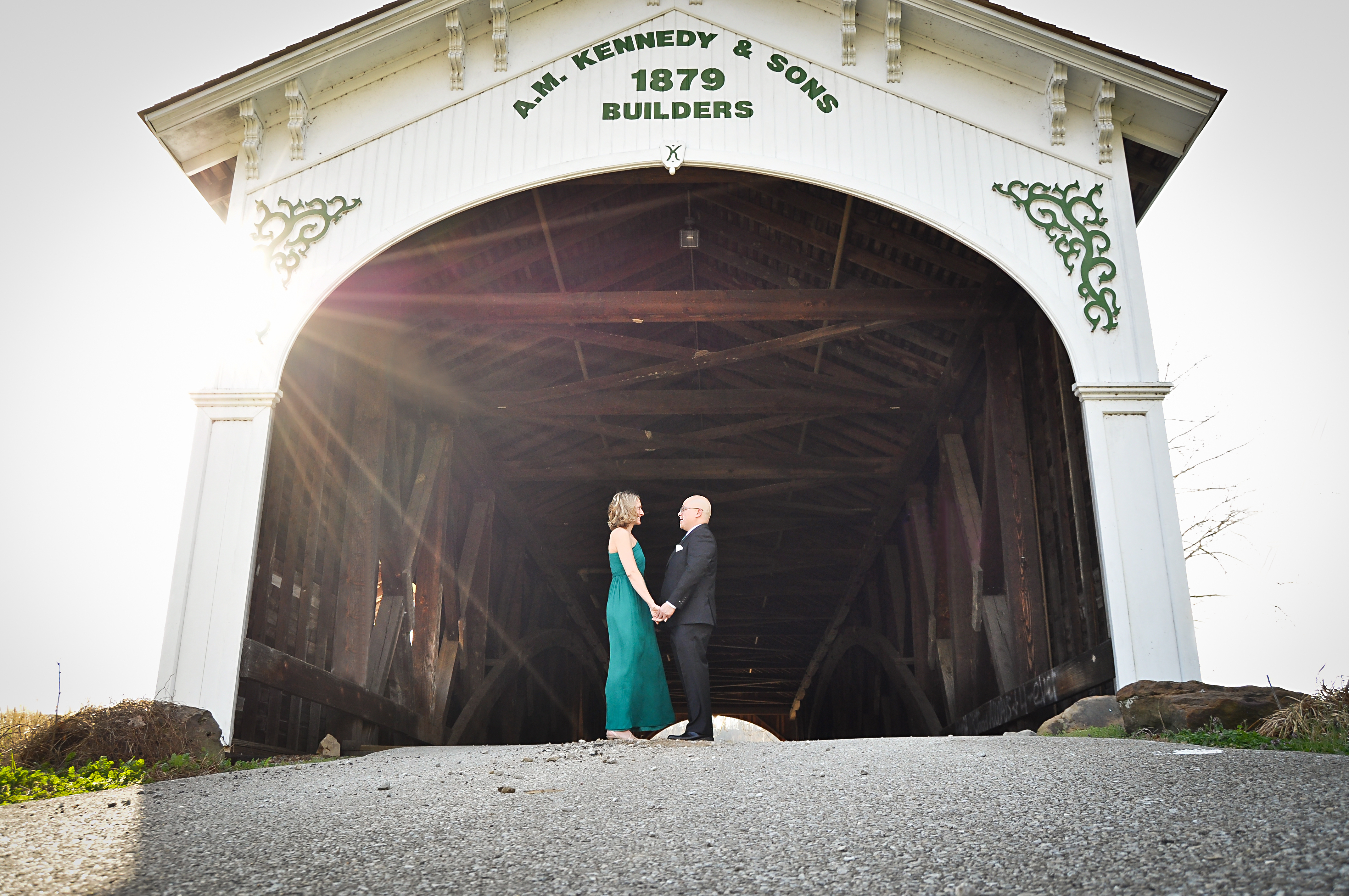 Covered Bridge Wedding