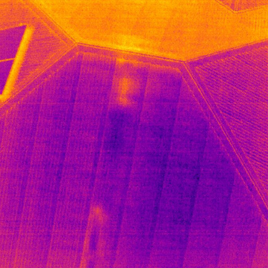 Drone Roof Inspection Thermal Iamge - Sp