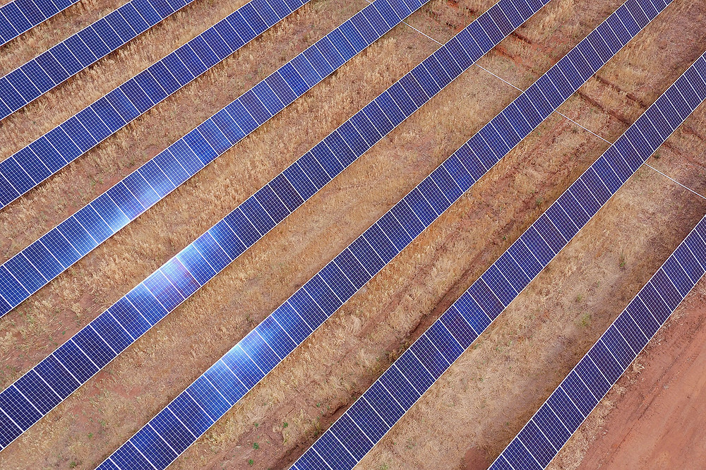 Northam Solar Farm, PV inspection services by Spectre UAV Concepts. Infrared PV solar inspection services perth wa