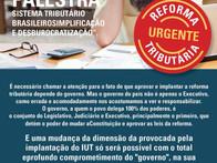 Evento em Minas Gerais para debater a reforma tributária