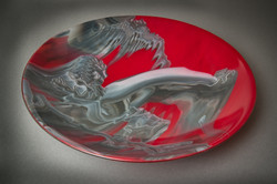 "Red Dawn 14-1/2"" bowl"