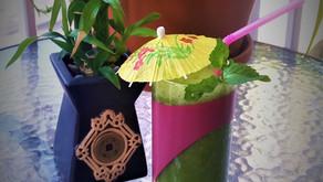 Ma recette de jus vert estival  rafraîchissant « énergétiquement »