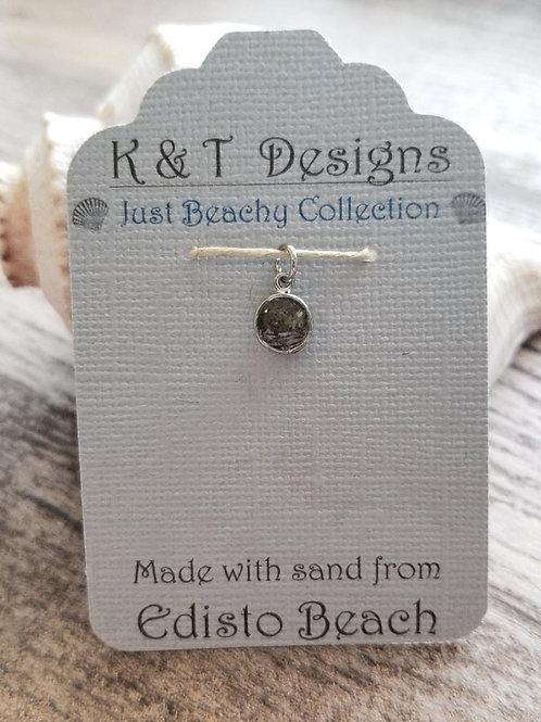 Edisto Beach Sand Mini Charm