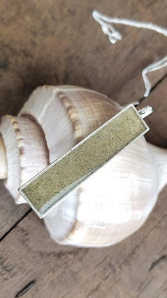 Beach Sand Bar Necklace