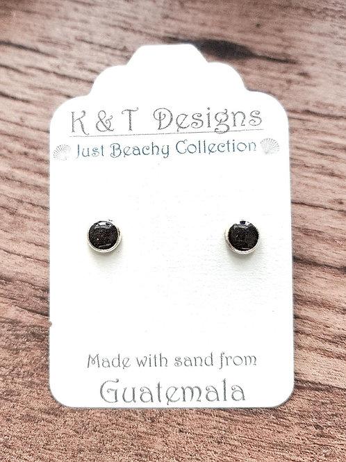 Guatemala Beach Sand Stud Earrings