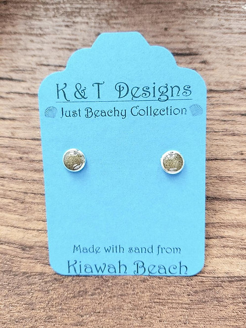 Kiawah Beach Sand Stud Earrings