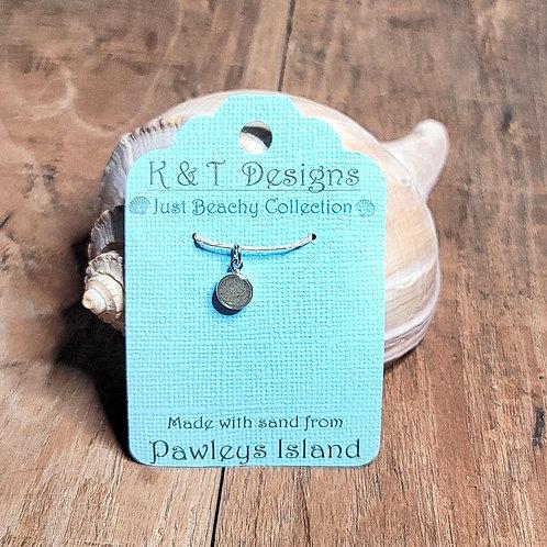 Pawleys Island Beach Sand Charm Pendant / Necklace