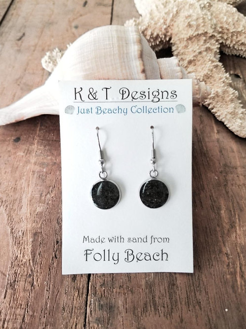 Folly Beach Sand Dangle Earrings