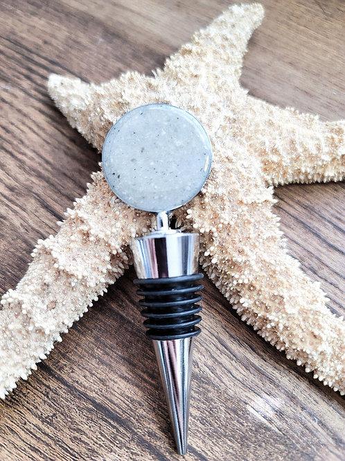 Anna Maria Island Beach Sand Wine Stopper