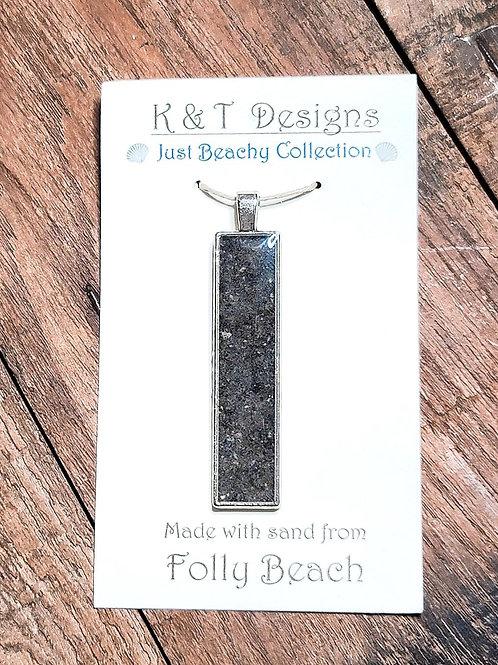 Folly Beach Sand Bar Pendant / Necklace