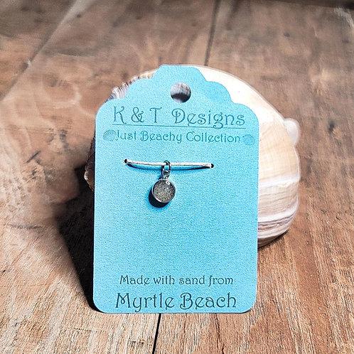 Myrtle Beach Sand Charm Pendant / Necklace