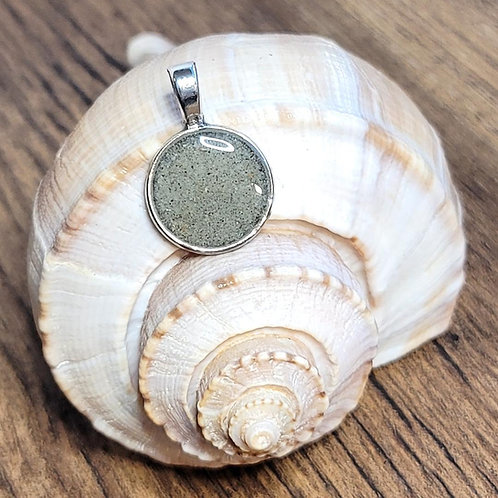 Litchfield Beach Sand Circle Pendant