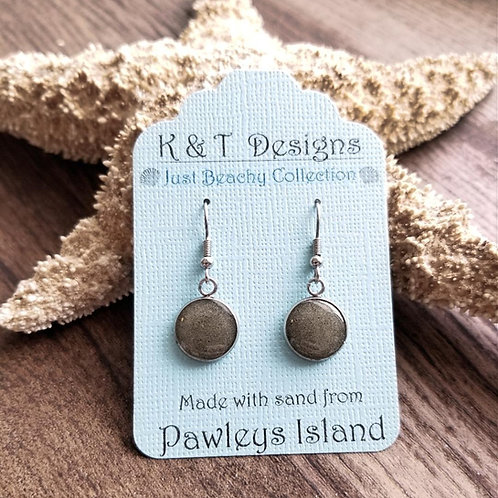 Pawleys Island Beach Sand Dangle Earrings