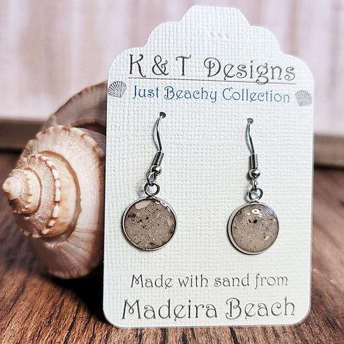 Madeira Beach Sand Dangle Earrings