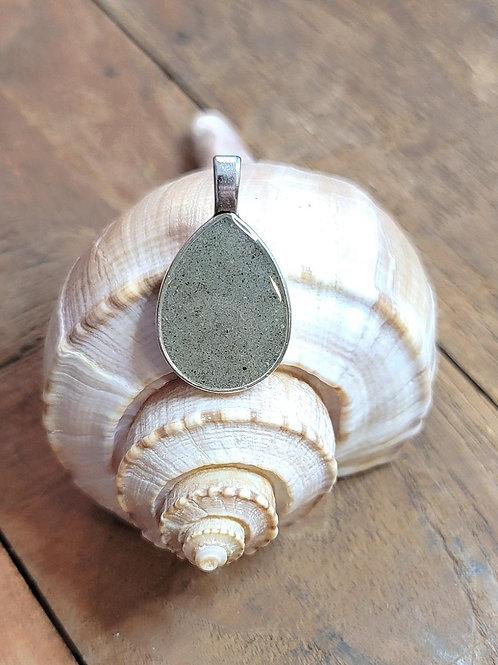 Fripp Island Beach Sand Teardrop Pendant / Necklace