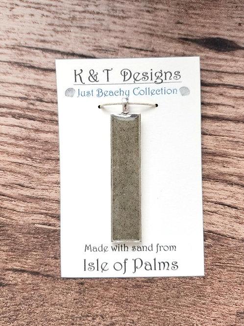 Isle of Palms Beach Sand Bar Pendant