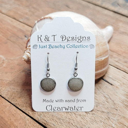 Clearwater Beach Sand Dangle Earrings