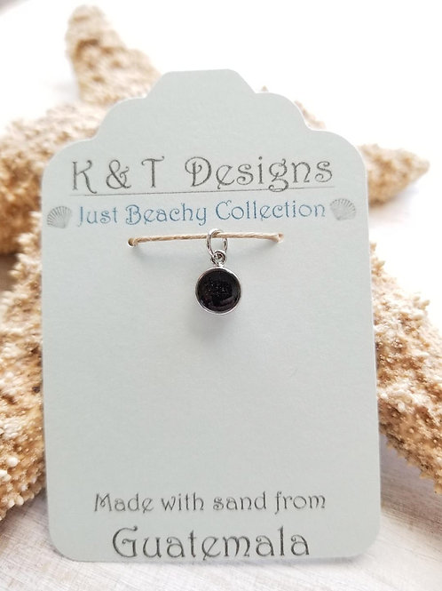 Guatemala Beach Sand Mini Charm