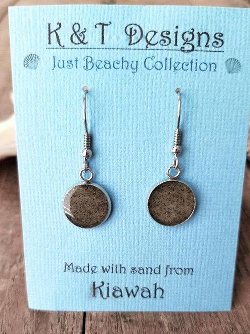 Kiawah Beach Sand Dangle Earrings